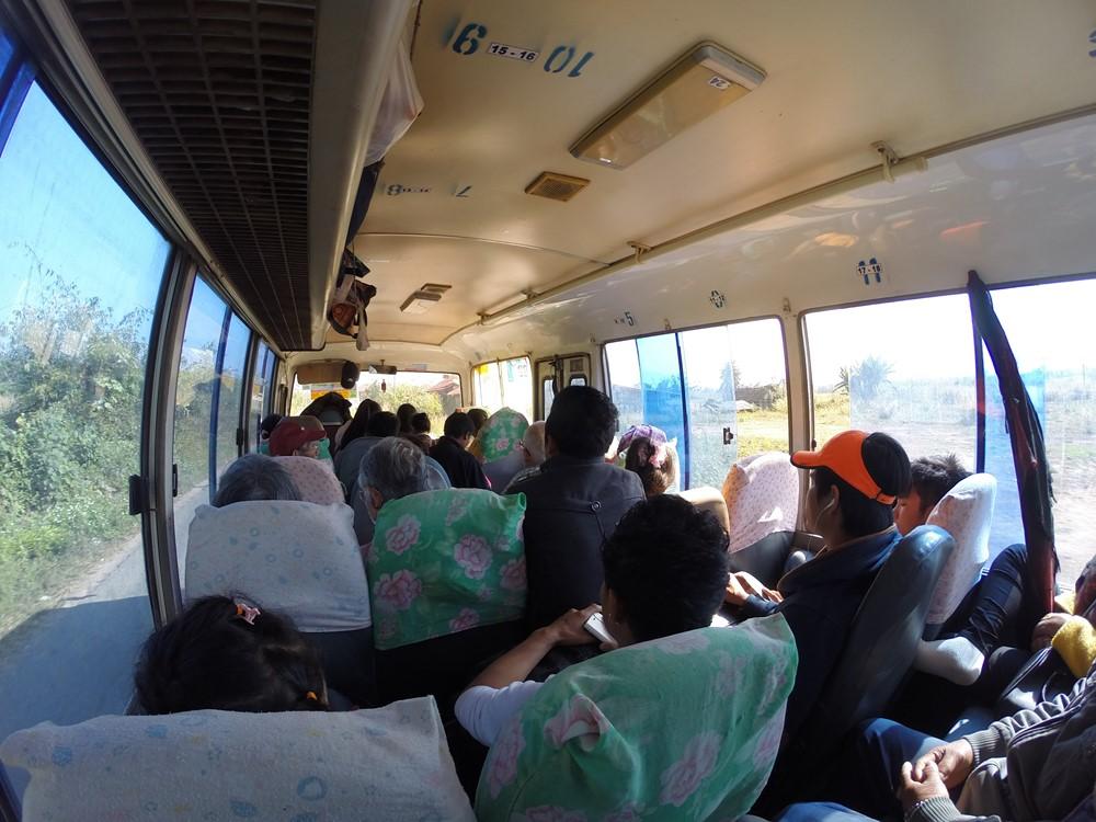 Bus pour Muang Khua