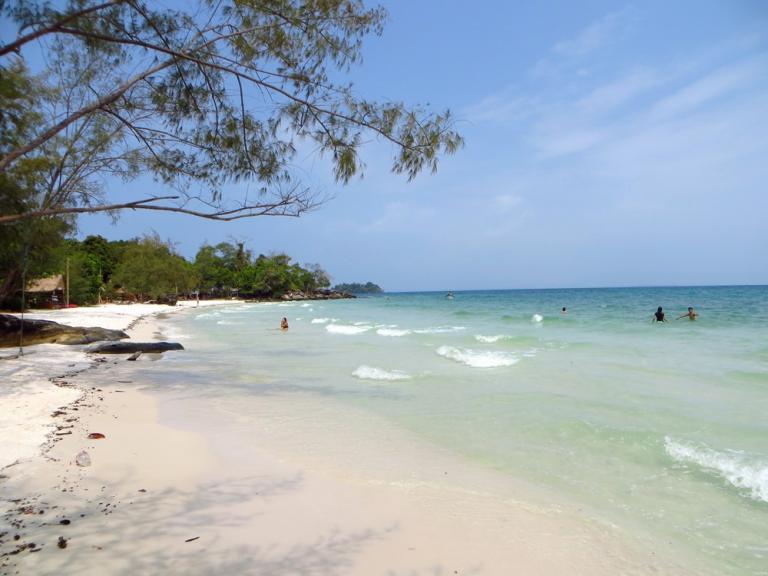 Koh Rong - Tui beach