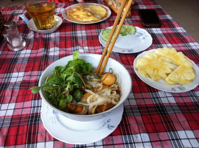 Petit déj Vietnamien !