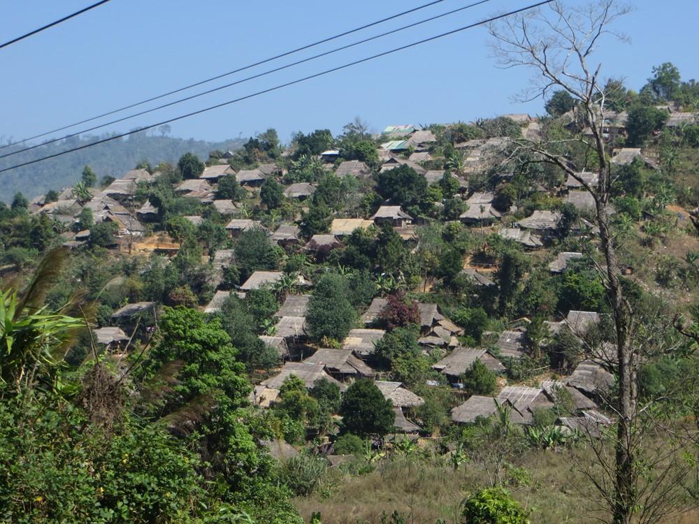 Camp de réfugiés Birmans